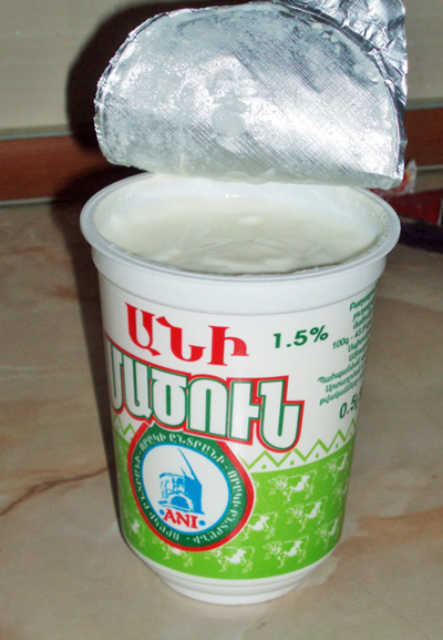 Armenian yogurt