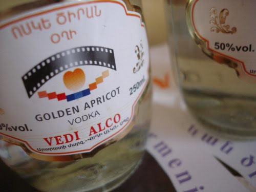 Armenian Apricot Vodka