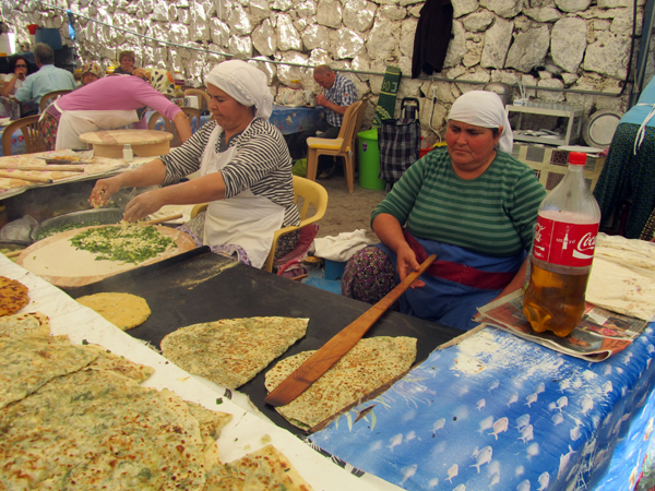 Turkish pancakes