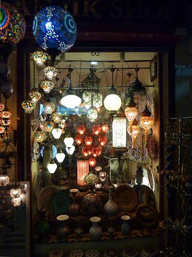 Istanbul shop window
