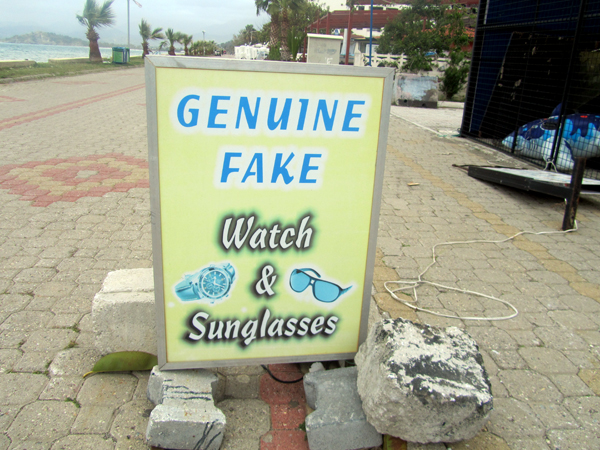 Genuine fake