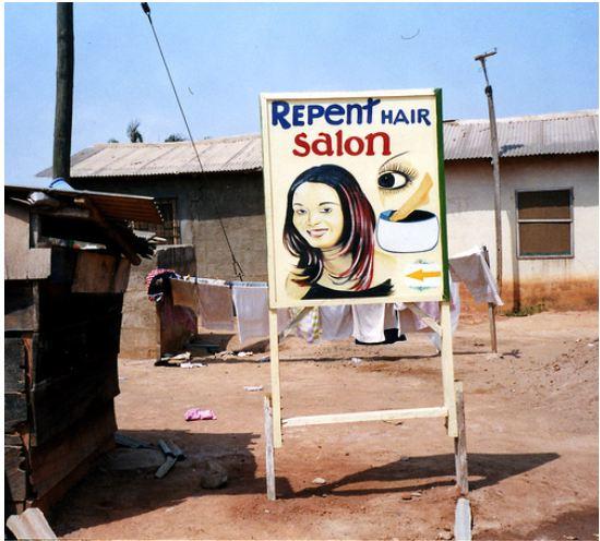 Ghana hair salon