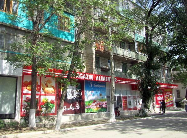 Moldova grocery store