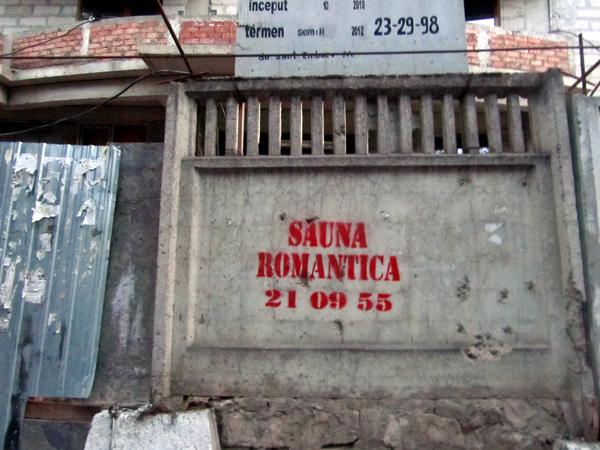 Romantic Sauna in Moldova