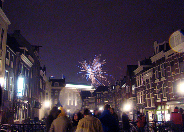 Fireworks in Holland