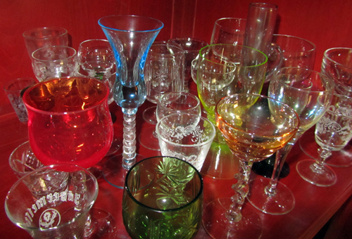 glasses for liqueurs