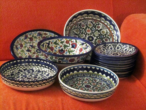 Handpainted ceramics Hebron
