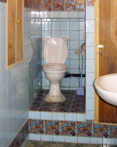 Refitted Armenian toilet