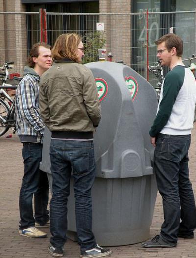 Netherlands Public Toilet