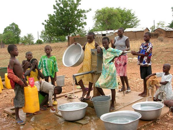 Ghana Village Water Well