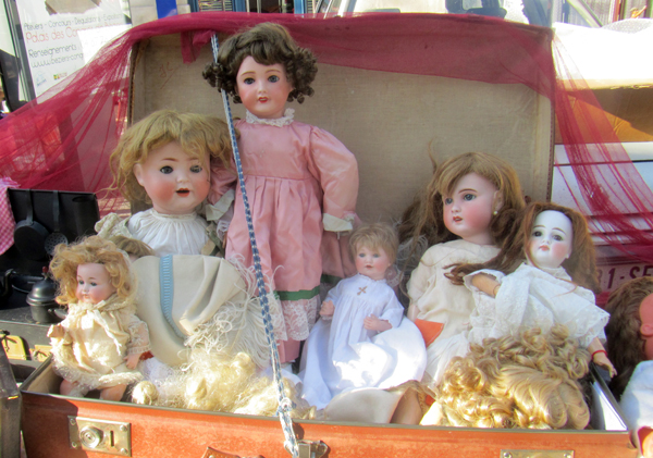 Antique French dolls
